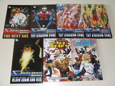 Collection DC Comics Trade Paperbacks & Graphic Novels - Justice Society Of America (JSA) 7x Books - 1st Edition - (2008/2009)
