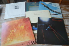 Jon and Vangelis / Vangalis solo / Jon Anderson solo / Chis Squire solo- lot of 9 albums