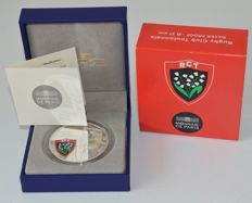 France – 10 Euro 2012 'Rugby Club Toulonnais' – silver and colour