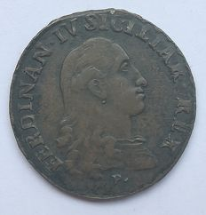 Kingdom of Naples – 1 Grano 1789 third type Ferdinando IV