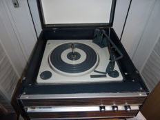 Vintage Philips Transistorised Portable Record Player with BSR Turntable