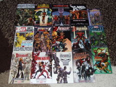 Marvel Comics - Set of Trade Paperbacks & Graphic Novels - Including Punisher, Avengers, X-men + More - 15x Books - 1st Edition - (2001/2012)