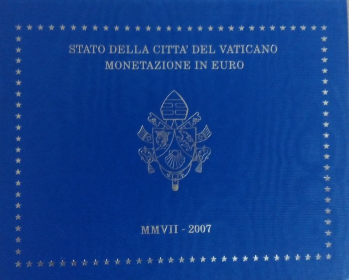 Vatican - Year 2007 'Benedict XVI' collection