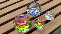 Swarovski - paperweights (3) - dealer paperweight