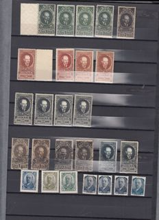 Russia 1858/1950 - Selection of stamps