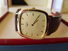 Longines, 18 kt, 750 yellow gold wristwatch