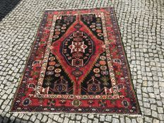 Old PERSIAN / IRAN Maslagan RUG Hand knotted 205x140 cm