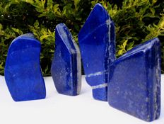 Lot of Lapis Lazuli Tumble  - 1105 gm (4)