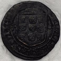 Portugal - Monarchy - D. Afonso V (1438 - 1481) - Ceitil - above average - Rare in this condition