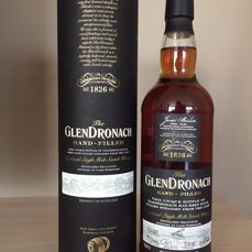 Glendronach 2005 hand filled at distillery in 2017