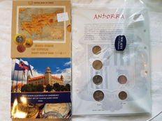 Europe – Series of coins from 2004/2009 (total of 22 coins + silver medal)