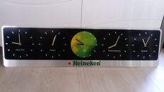 Heineken clocks