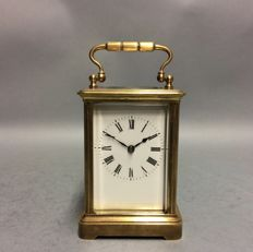 Antique brass carriage clock - Period 1860/1880
