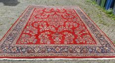 Hand-knotted oriental carpet, Keshan, XL 299 x 397 cm