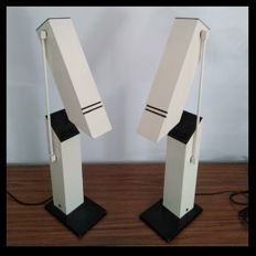 Unknown designer - Folding lamps (2x).