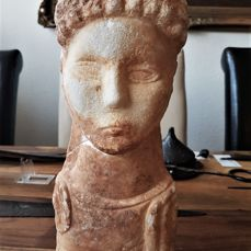 Roman marble bust of a man - 300 mm