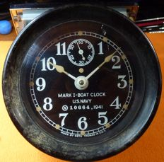 Ship clock MARK I - US NAVY 10664, 1941
