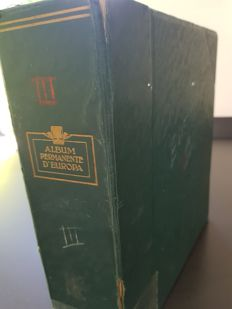 Europe 1850/1930 - Collection in an old album, with a lot of classic material
