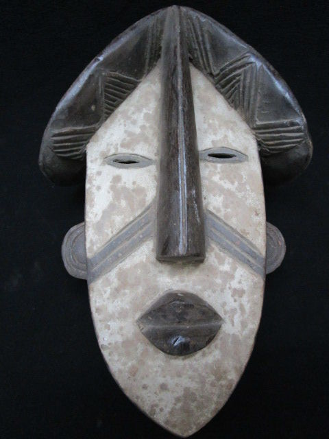 LWALWA mask - Congo. 34 cm collection object