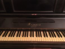 Upright piano brand Rosener - Berlin