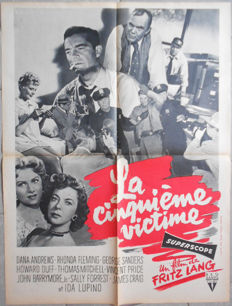 Anonymous - La cinquième victime / While the city sleeps (Fritz Lang) - 1956