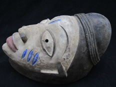 Beautiful GELEDE YORUBA mask - Nigeria