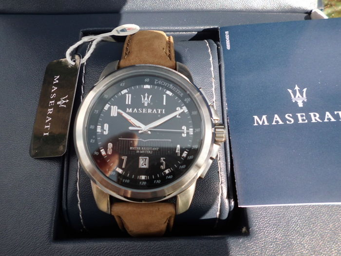 Unworn ! Maserati Successo — R8851121004 — Mens Watch — 2011-heute