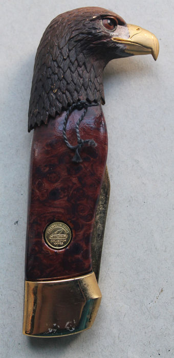 "Franklin Mint 1998 - Pocket knife ""The Great American Eagle"""