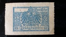 German Empire 1860/1948 - Airmail, Feldpost, Official stamps, Telegram.