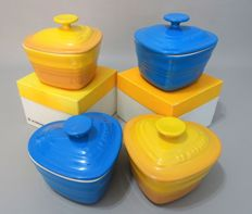 Le Creuset - Ramequin d 'Amour with lid - 4 pieces