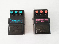 Aria Vintage 1980s Chorus ACH-1 and Distortion ADT-1