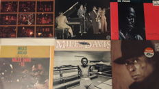 Miles Davis - 6 LP Album: Collector´s Item (2 LP Set), In Paris, Sketches of Spain, Decoy, Tune Up (2 LP Set), Miles Ahead