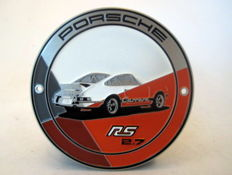 Porsche 911 Carrera 2.7 RS - Grillbadge - Orange