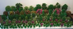 Scenery H0 - Lot with 190 model trees / trees