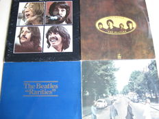 Nice Lot with 5 Albums of The Beatles & Related