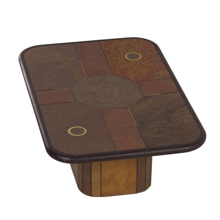 Natural Stone Coffee Table: Rectangular Natural-stone Coffee