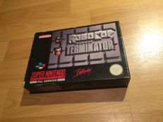 "Snes ""Robocop vs. Terminator"" Fully Complete and hard to find"