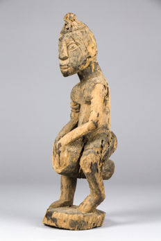 Figurine depicting a Hogon - DOGON - Mali
