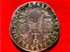 Spain - Spanish Netherlands – Count of Brabant - Alberto and Isabel (1598-1621) - silver ducaton (27,49 g / 41 mm) - Patagon (1614-1621)