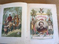 Lot of 3 African exploration books by missionaries - 3 volumes - 1878/1900