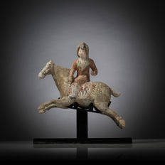 Lady Polo Player - China - With T.L. test - L. 30,5 cm.