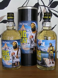 2 Bottles - Big Peat The Swiss Edition 2017 & The Explorers Edition 2016