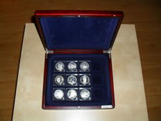 Solid silver tokens Dutch Royal family