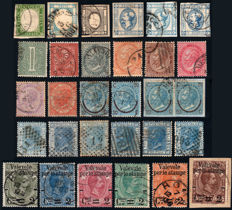 Italy, Kingdom 1861-1897 - stamp collection (Vittorio Emanuele II and Umberto I)