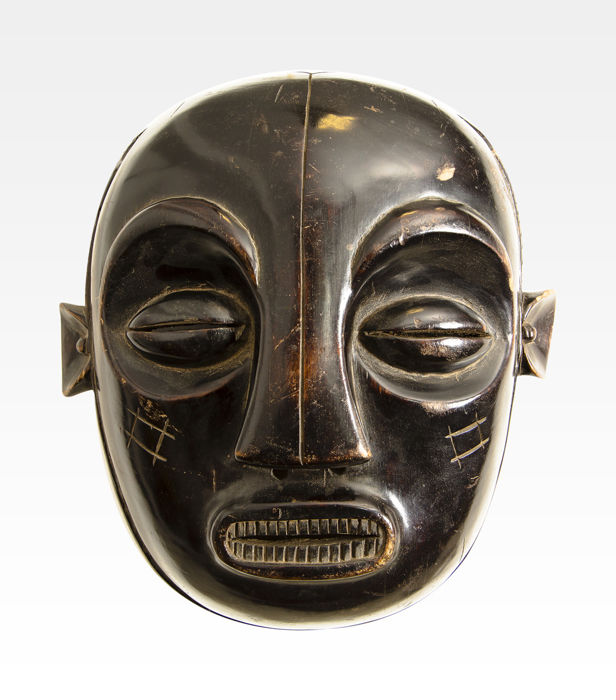 Ancient African Mask  - Luba People - Dem. Rep. Of Congo