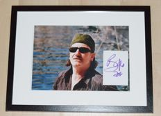 Bono ( U2 ) > Orig. Handsigned Card & Photo / Framed