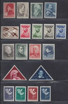 The Netherlands 1935/1936 – Complete year – NVPH 274 up to 292