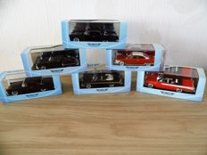 Neo Scale Models  - Scale 1/43 - Lot with 6 models american cars