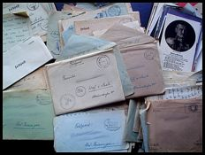 Feldpost; Extensive collection of military mail from WW II - 1943/1945