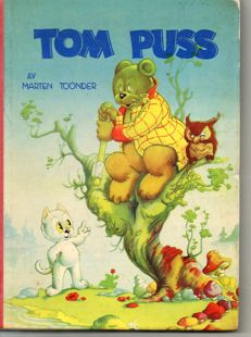 Marten Toonder; Lot with 3 books of the adventures of Oliver B. Bumble and Tom Puss - 1951 / 2007